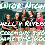 Volleyball Senior Night Tonight!