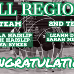 Volleyball All Region Awards