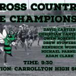 Good Luck Boys Cross Country