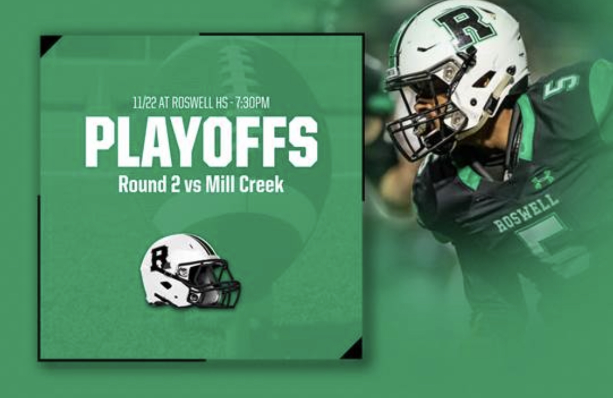 Friday Night Lights: Round 2 Football Playoffs Roswell v Mill Creek