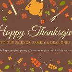 Happy Thanksgiving Hornets!