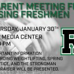 2020 Roswell Football informational meeting for rising 9th Graders.