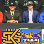 Signing Day!!! Congratulations Ford, Koporc, McCrary, and Roberts!