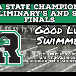 Good Luck to RHS Swimmers!