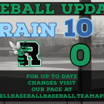 Roswell Baseball Loses to Mother Nature again!!!