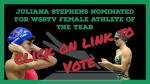 Stephens nominated for WSBTV Female Athlete of the year…she needs your vote!