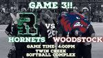 Hornet Softball will play today for a chance to advance!