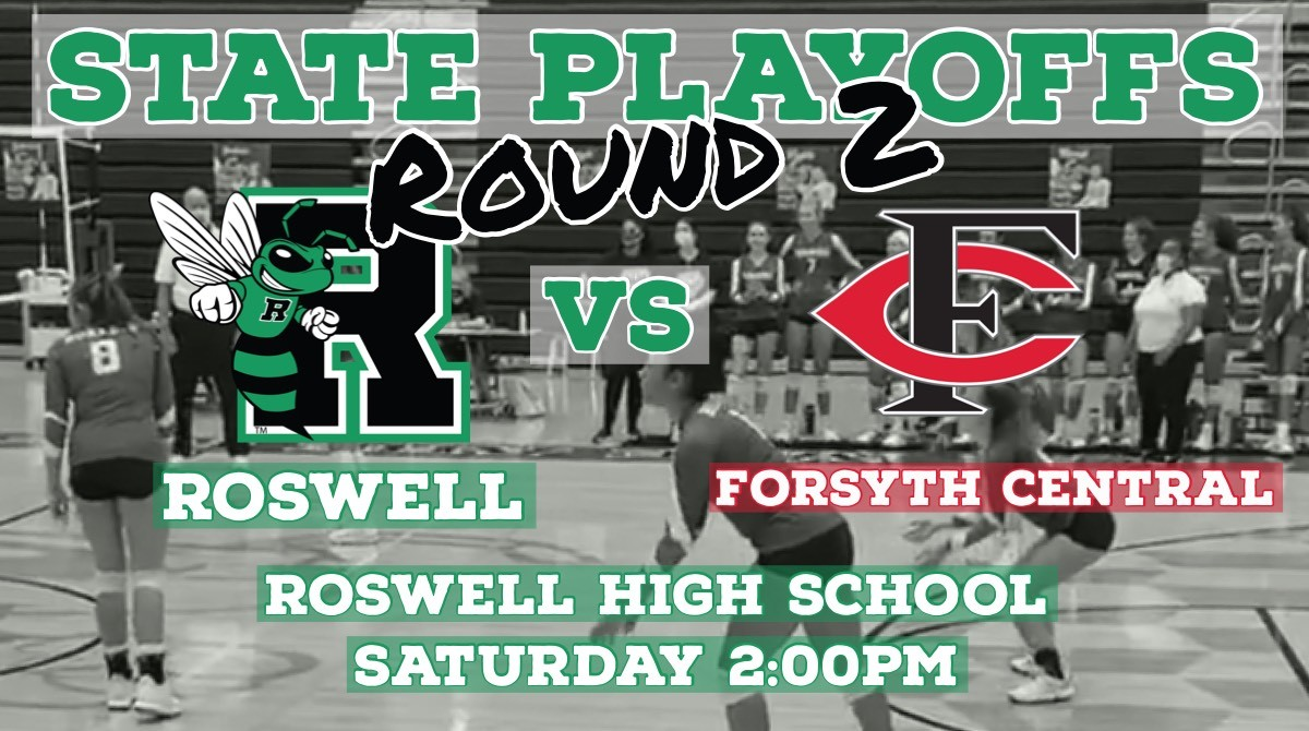 #2 Hornet Volleyball takes on Forsyth Central Saturday!