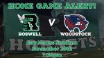Friday Night Lights: Game Day Information for Roswell v. Woodstock!