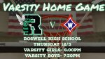 Varsity Basketball Home Game Tonight! Get your Tickets here!
