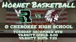 Varsity Basketball Region Opener Tonight!