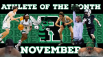 November's Athletes of the month!
