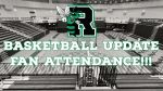 Attendance Information for Basketball