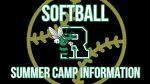 Roswell Softball Summer Skills Camp Registration Information