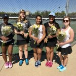 North Farmington High School Girls Varsity Tennis beat Walled Lake Western High School 7-1