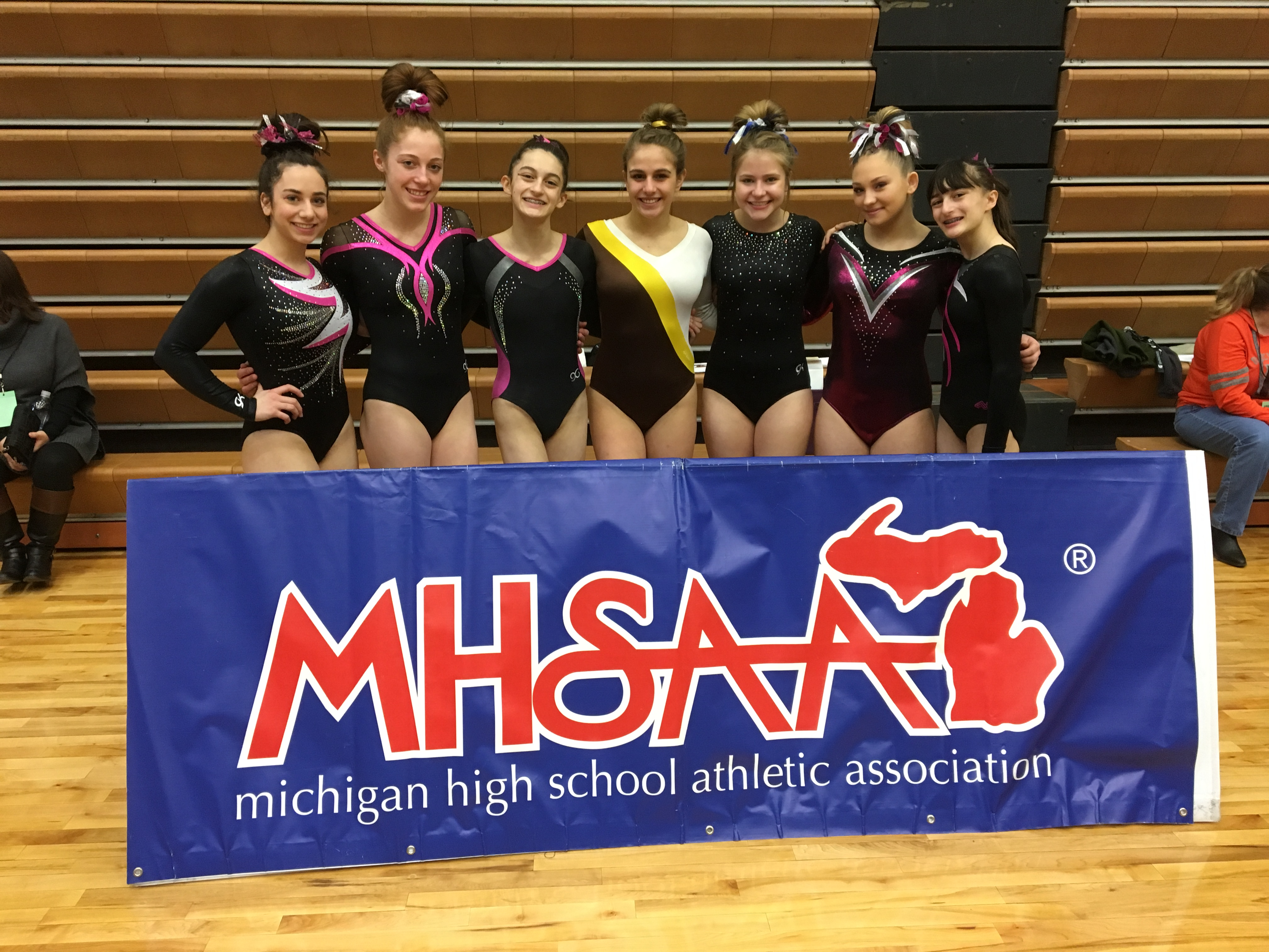 FUG Gymnasts Soar High at the Individual State Meet