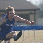 Tanner Saunders breaks the Region 1-AAA 400 hurdles record