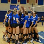 Lady Blue Flame Volleyball vs Aiken In Upperstate Finals