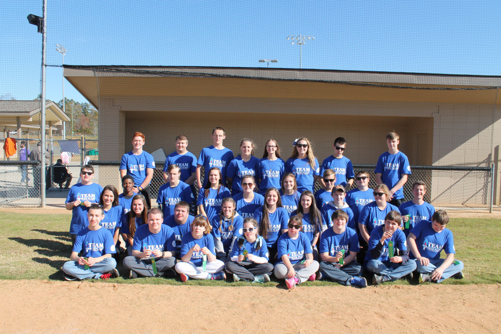 Unified Sports Team Traveled to Walhalla to Compete in a Friendly Kickball Competition