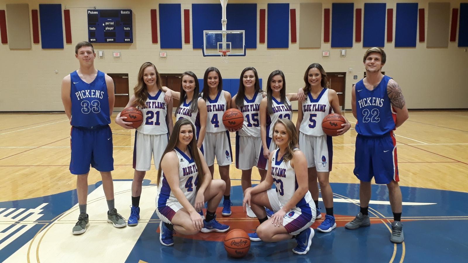 Varsity Basketball Players