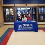 Sarah Rafferty Signing with North Greenville Tennis Pictures