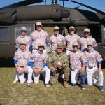 Blue Flame Baseball Honors Our Military