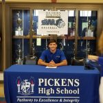 Dawson Gilstrap Signs with SWU to Play Baseball