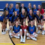 Lady Blue Flame JV Volleyball Win Seven Straight Matches