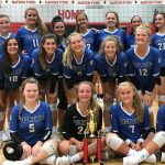 Lady Blue Flame Places Second in Nation Ford Invitational Volleyball Tournament