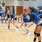 Lady Blue Flame Volleyball Results for August 26 vs Southside Christian and Greenville