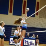 Lacy Blue Flame Varsity Volleyball vs Easley 8-28-19