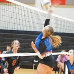 Lady Blue Flame JV Volleyball Defeats Liberty 2-0 on 9-3-19