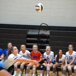 Lady Blue Flame Varsity Volleyball Defeats Liberty 3-0 on  9-3-19
