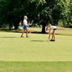 Lady Blue Flame Golf at Wren Hurricane Tournament