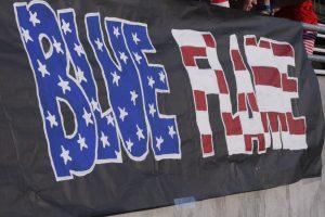 Blue Flame Varsity Football Defeats Liberty 10-0