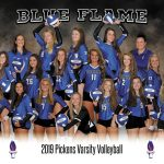 Lady Blue Flame Volleyball Sweeps Walhalla