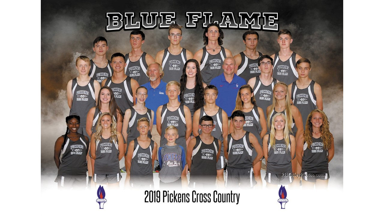 Blue Flame Cross Country at the Eye Opener