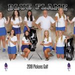 Lady Blue Flame Golf Defeats the Liberty Red Devils
