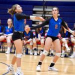 JV Lady Blue Flame Volleyball Wins 2-0; 25-8 , 25-15 Over Palmetto (Photos by Lyndsay Earnhardt)