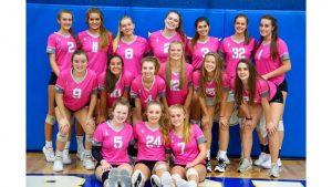 Lady Blue Flame Varsity Volleyball Defeats Wren 25-7, 25-21, 25-11  (Photos by Lyndsay Earnhardt)