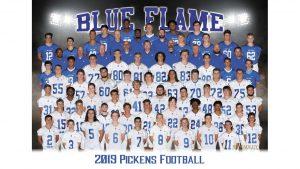 Blue Flame Varsity Football vs Wren