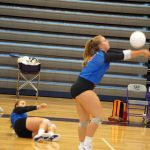 Lady Blue Flame JV Volleyball Win 25-18, 25-19 Over Walhalla (Photos by JV and Varsity Volleyball)