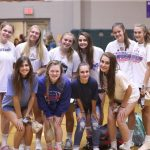 Blue Flame Volleyball Cheer on Dacusville Middle School(Photos Courtesy of Robert Bradley)