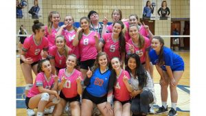 JV Lady Blue Flame Volleyball Wins 2-0 Over BHP (Photos by Lyndsay Earnhardt)