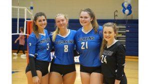 Lady Blue Flame Varsity Volleyball Wins 3-0 Over BHP on Senior Night (Photos by Lyndsay Earnhardt)