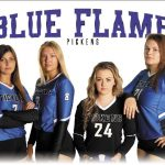 Lady Blue Flame Honor Seniors, Defeat Region Foes Walhalla, BHP