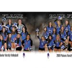 Blue Flame Volleyball Finishes the Regular Season Strong