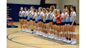 Lady Blue Flame Volleyball Wins 3-0 Over Orangeburg-Wilkinson, 25-18, 25-14, 25-17 in the Third Round of the Playoffs (Photos by Lyndsay Earnhardt)
