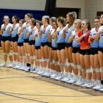 Lady Blue Flame Volleyball Team Advances Deep into Playoffs