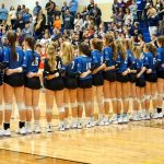The Lady Blue Flame Win Upper State Volleyball Championship